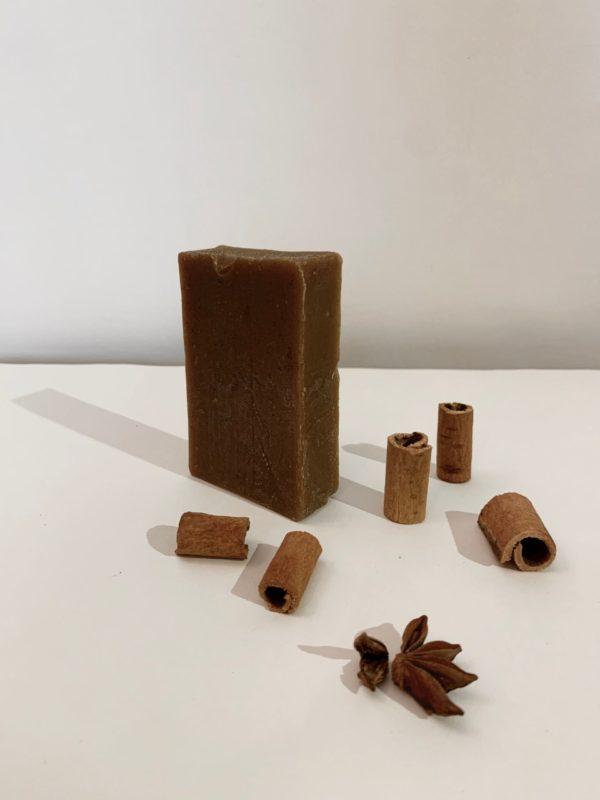 Cinnamon Walnut Scrub Bar